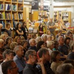 The Powell's Sept. 12 book launch attracted an overflow crowd.