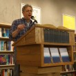 "At Powell's in May, Scott Sparling reads ""Surely,"" his story in THE NIGHT, AND THE RAIN, AND THE RIVER."